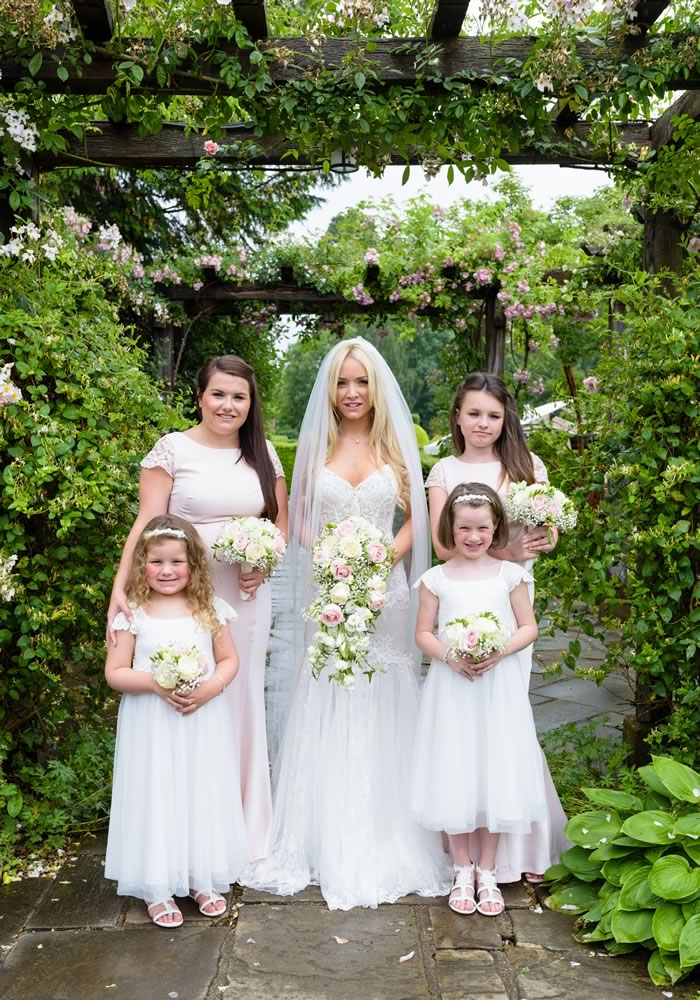 When bride Lauren wore a Naama & Anat wedding dress, her Instagram obsession became reality and their pastel wedding is more perfect than words...
