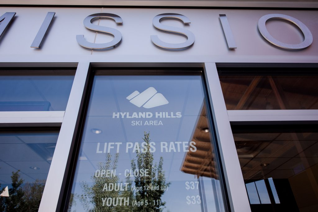 not just for skiing, get married at Hyland Hills Ski Chalet in the non-winter months