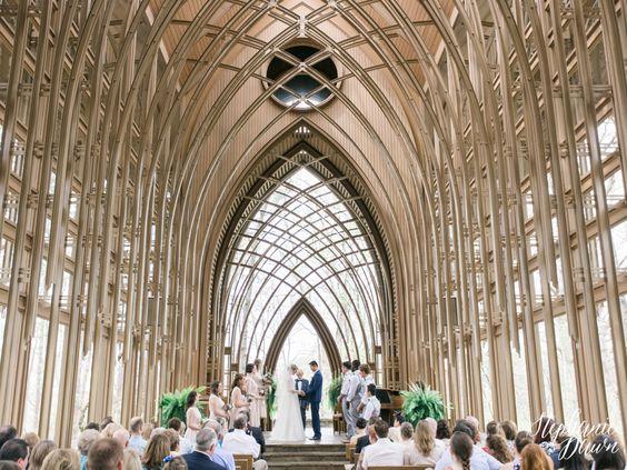 Mildred B. Cooper Chapel wedding