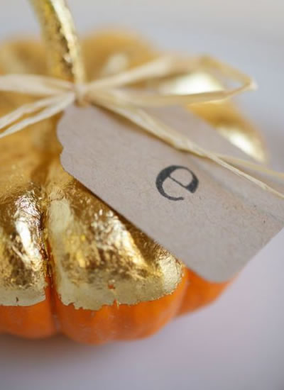 16 contemporary and creative ways to have the prettiest pumpkin wedding decor at your autumn or fall wedding! And no, they're not all orange...