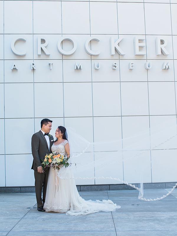 Crocker Art Museum wedding