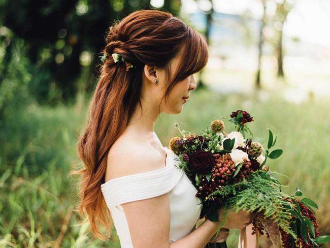 red haired bride best masks 2019