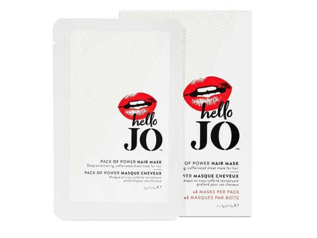 sachets of hello jo hair mask- best hair masks