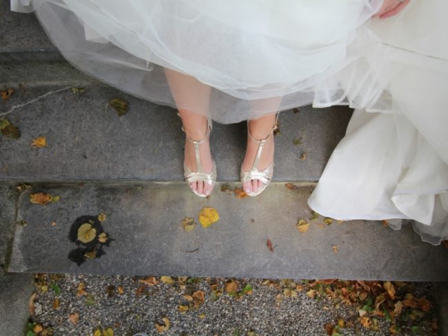 How to Achieve a Mint Green Wedding Theme - wedding shoes