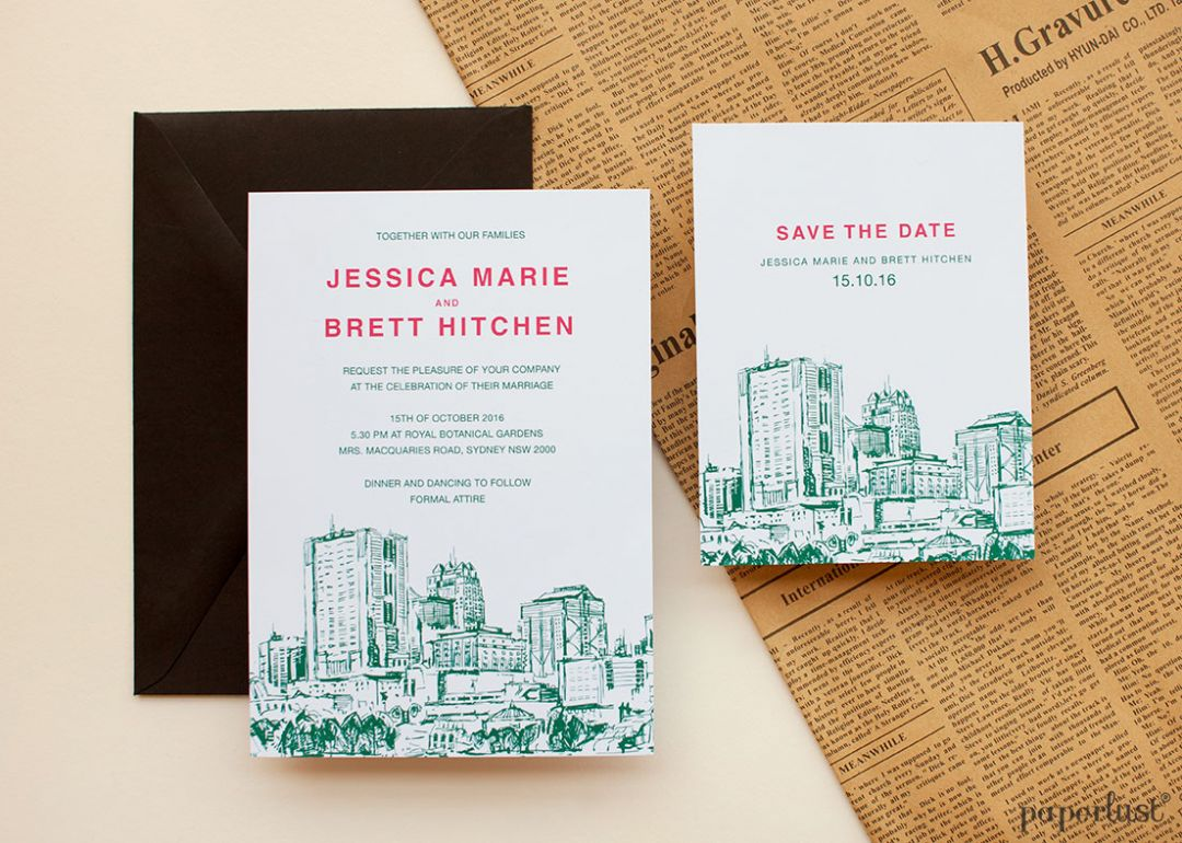 Cheap save the date ideas