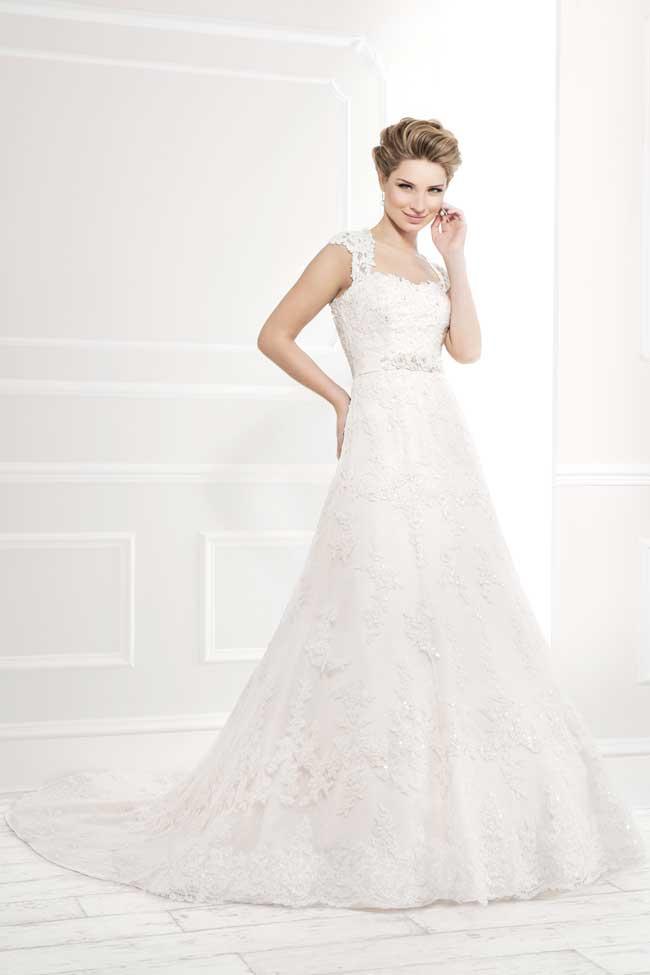 Best Lace Wedding Dresses-Style-11399-Ellis-Bridals