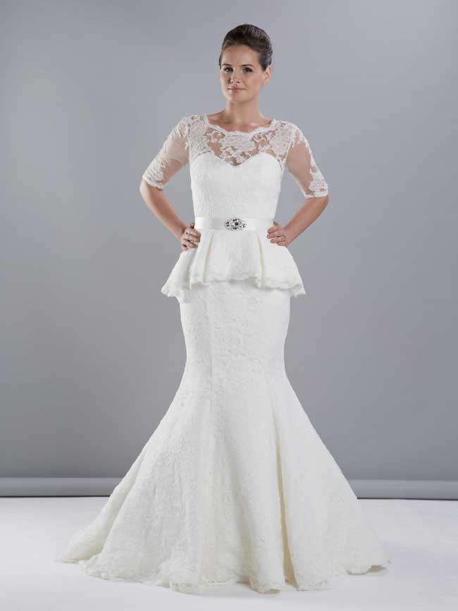 Best Lace Wedding Dresses-Style-W231-Phoenix-Gowns