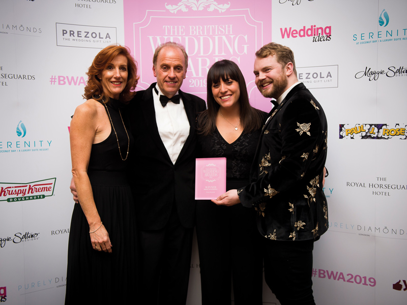 British Wedding Awards winners The British Wedding Awards 2019: the designers, venues and brands recognised on the night