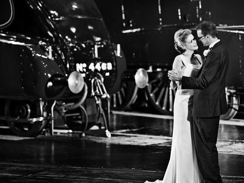 National Railway Museum wedding couple dancing The British Wedding Awards 2019: the Designers, Venues and Brands Recognised on the Night