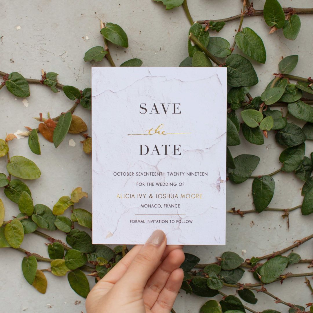 Save The Date Etiquette 101