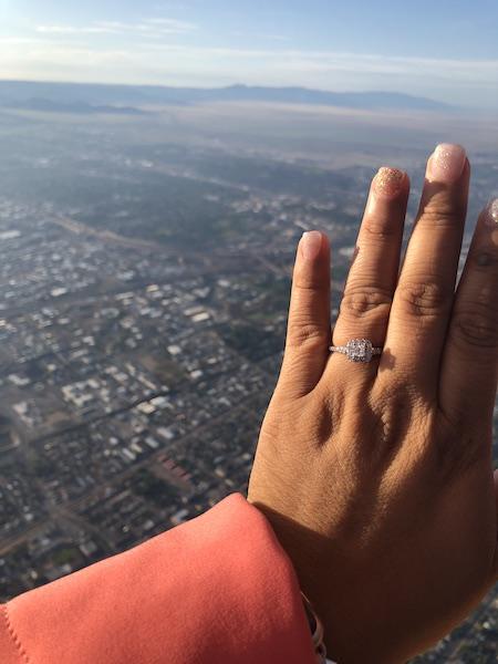 Engagement Story - marriage proposal - hot air balloon proposal - wedding proposal