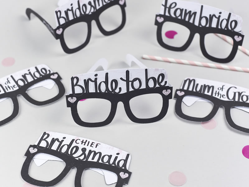 hen party accessories fake glasses