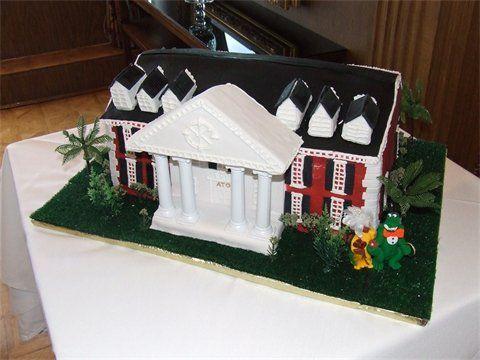 Grooms Cake - Frathouse Grooms Cake - A Piece of Cake Tampa Florida