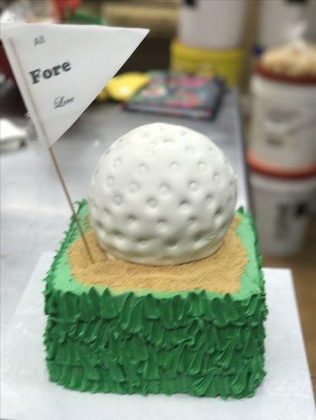 Grooms Cake - Golf Grooms Cake - A Piece of Cake Tampa Florida