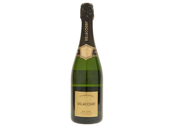 Bottle of Delacourt Vintage, Marks & Spencer