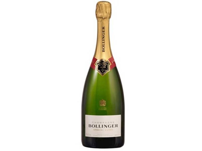 Bottle of Bollinger Special Cuvee