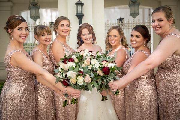 Orlando Real Wedding - Orlando Perfect Wedding Guide - wedding party flowers