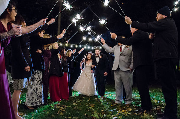 outdoor sparkler exit - Grand Exit