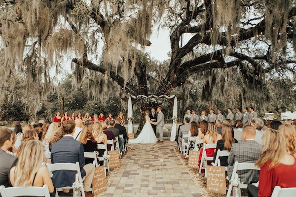outdoor wedding ceremony - Orlando  Perfect Wedding Guide