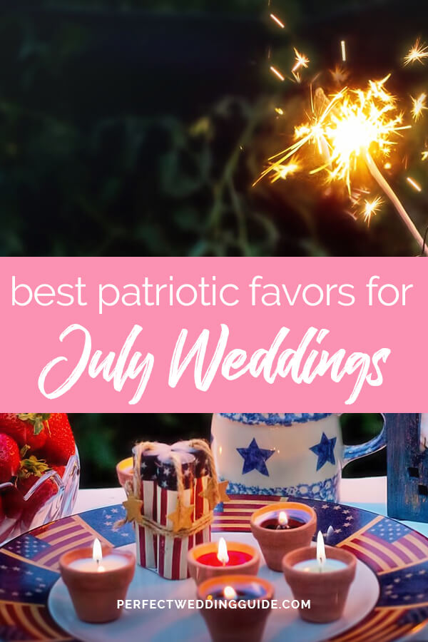 Best Patriotic Favors for July Weddings