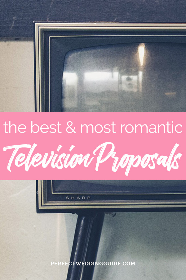Best Television Proposals We're Still Not Over
