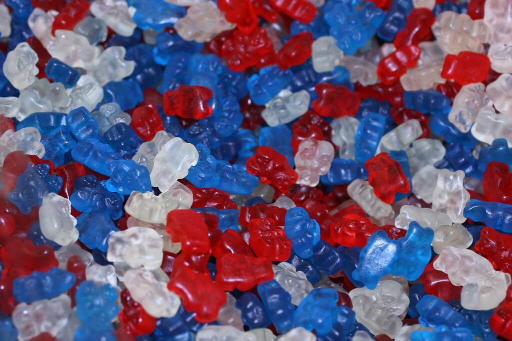 Red, White & Blue Snacks