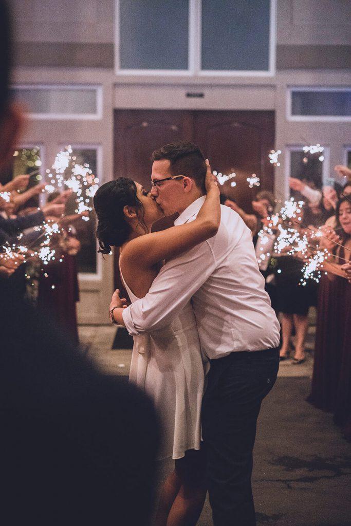 Grand Wedding Exit