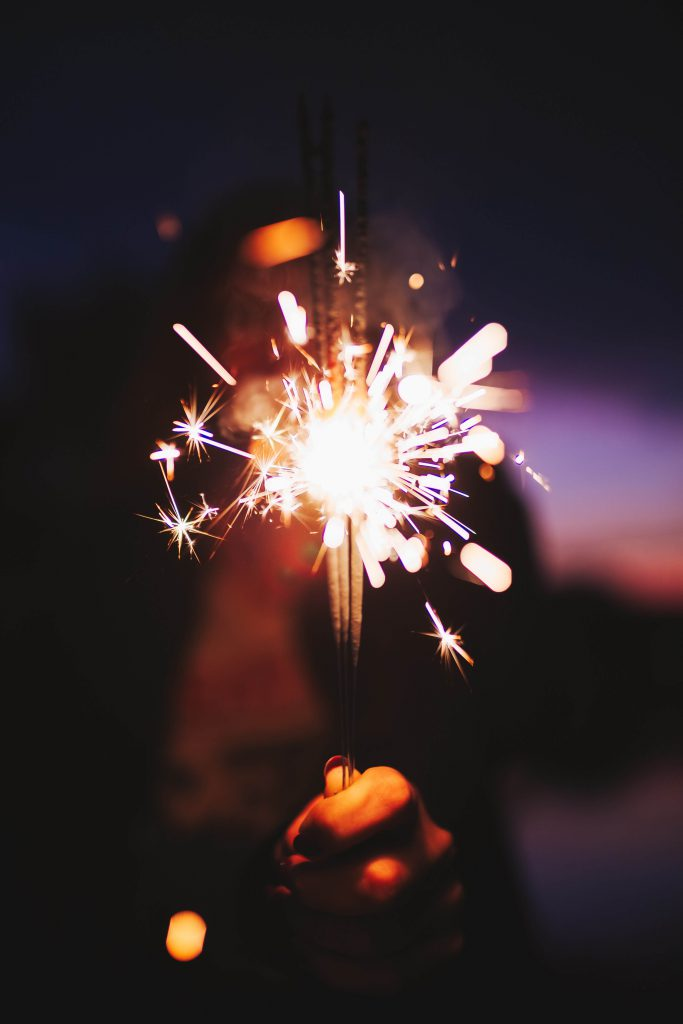 Sparklers & Fireworks for 4th of July