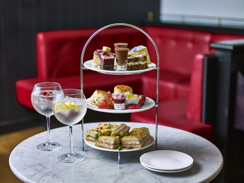 Afternoon tea at Cafe Rouge