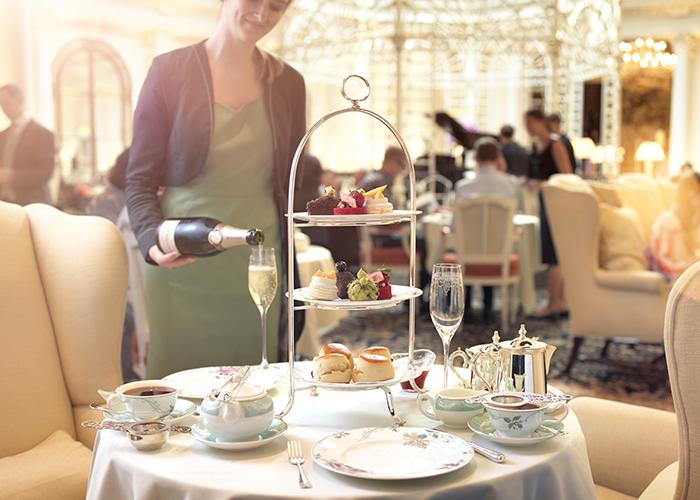 The Savoy afternoon tea
