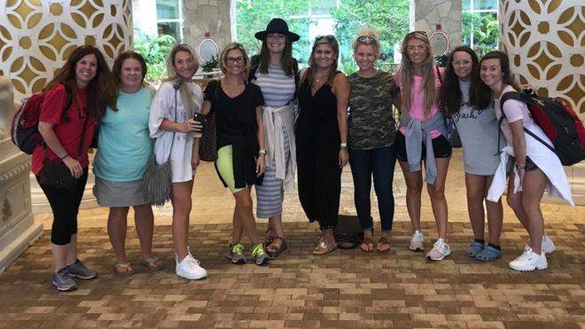 Georgia Native Transforms Her Bachelorette Party Into Relief Aid For Hurricane Dorian