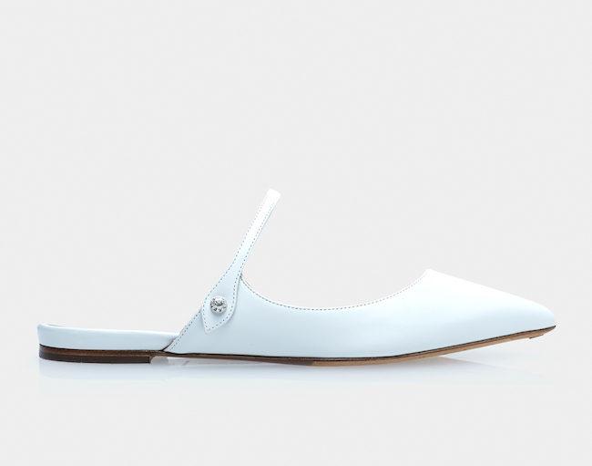Tabbitha Simmons flat wedding shoes