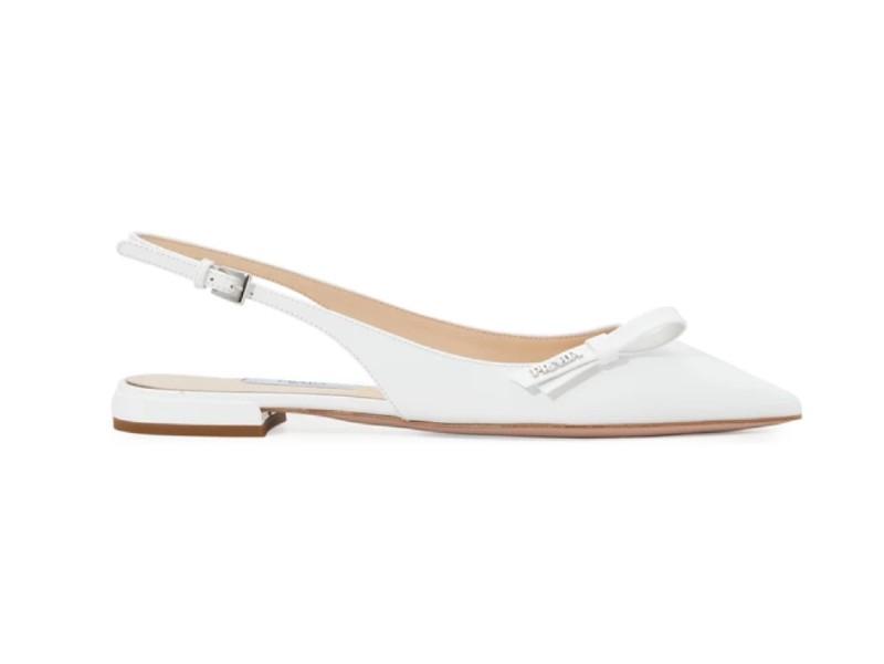 prada-slingback-flat-wedding-shoes