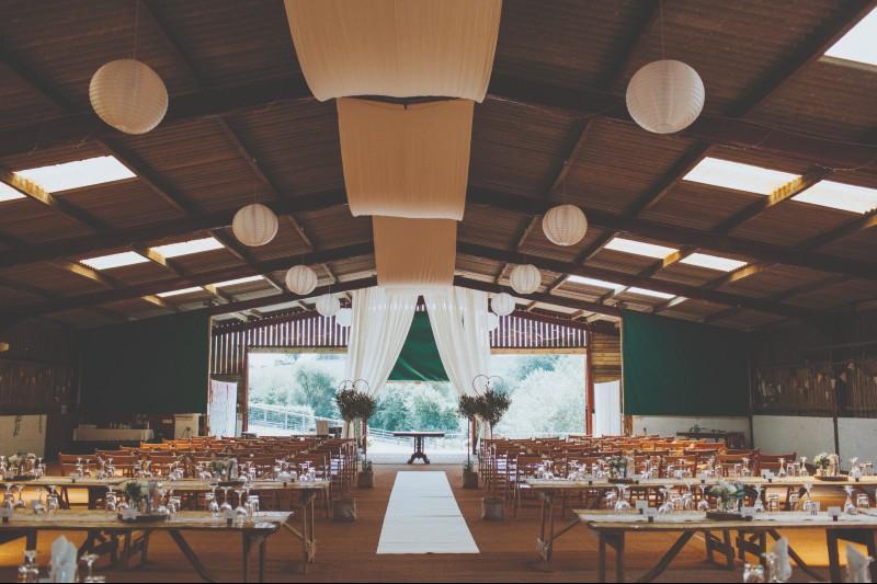 Shindig Wedding Barn Gwaenynog Farmhouse