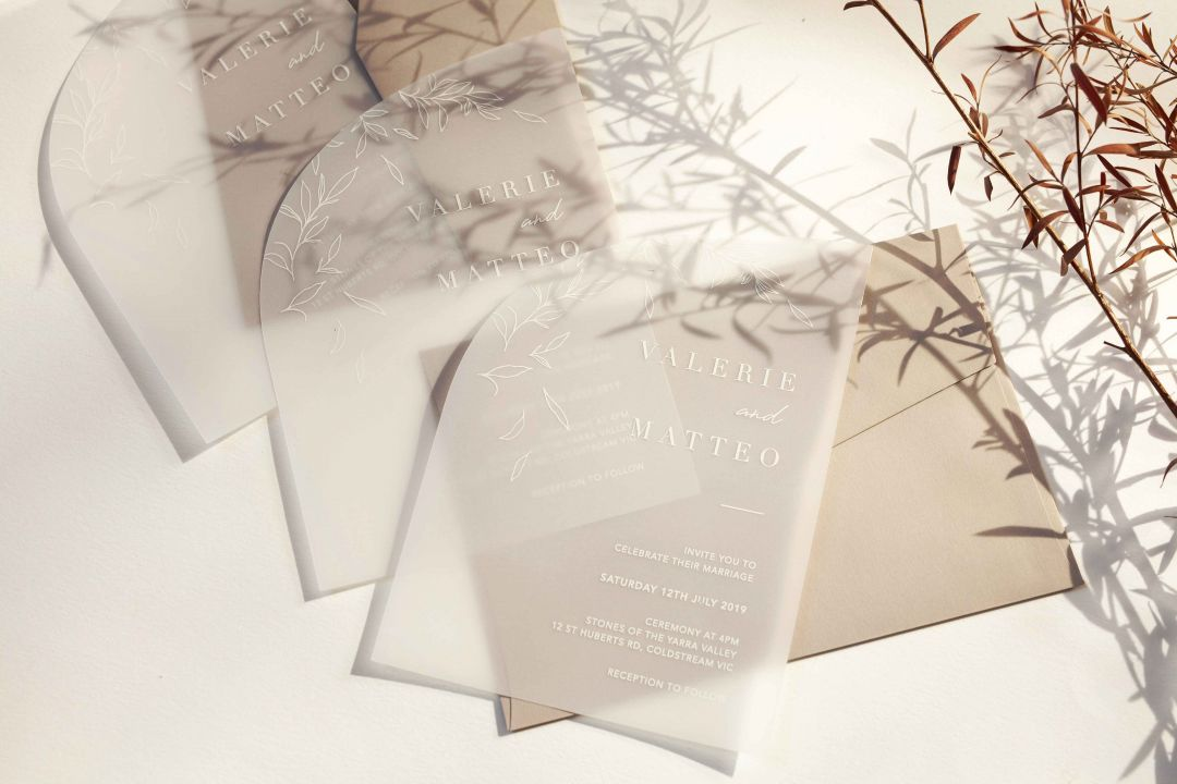 The not so eco-friendly truth of Acrylic Wedding Invitations