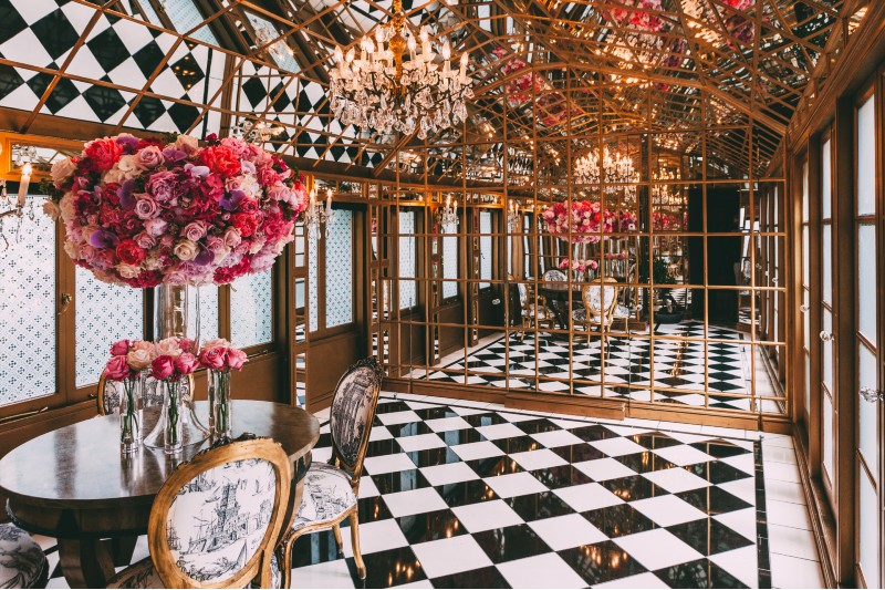 The Mirror Room at 11 cadogan square