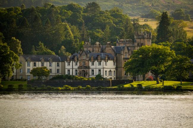 Cameron House Hotel on Loch Lomond exterior